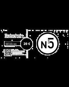 NFIVE Onlineshop Gutschein 20€