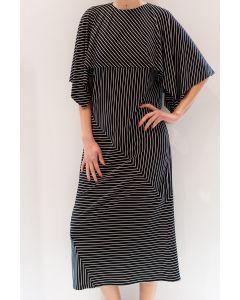 Kleid MM6 Cape Viskose Kleid