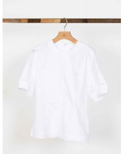 Bluse 3.1. PHILLIP LIM SS Top With Back Zipp White