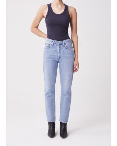 Jeans AGOLDE Fen High Rise Relaxed Tapered Jean Dimension