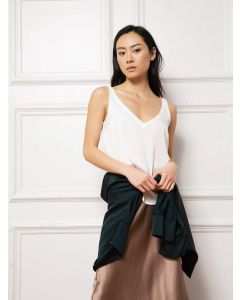 Top AHLVAR GALLERY Shin Tank Off White