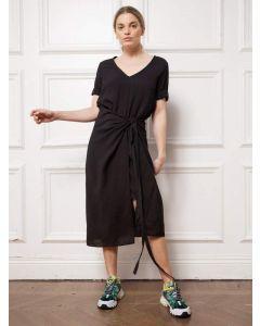 Kleid AHLVAR GALLERY Tamila Dress Washed Black