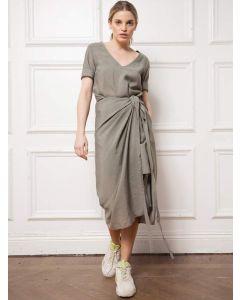 Kleid AHLVAR GALLERY Tamila Dress Light Military