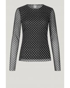 Shirt BAUM&PFERDGARTEN Jodiana Black BP Dot