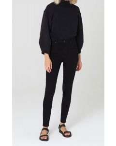 Jeans CITIZENS OF HUMANITY Chrissy High Rise Skinny Plush Black