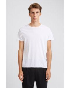 Shirt FILIPPA K Roll Neck Tee White