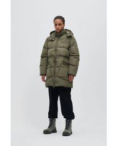 Jacke GANNI Recycled Polyester Oversized Puffer Midi Jacket
