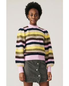 Pullover GANNI Soft Wool Knit Pullover