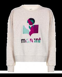 Sweater ISABEL MARANT ÉTOILE Mobyli Ecru