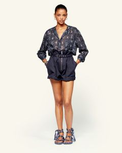 Shorts ISABEL MARANT ÉTOILE  Parana Faded Night