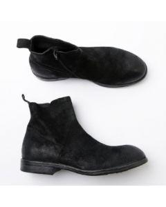 Schuhe MOMA Tronchetto Uomo Fagiano Nero