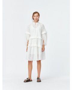 Kleid MUNTHE Frilly Ivory