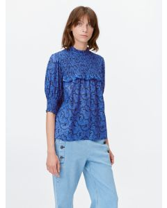 Bluse MUNTHE Troon Blue