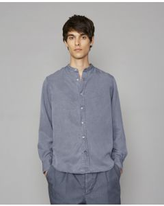 Hemd OFFICINE GÉNÉRALE Gaspard Shirt Atlantic Blue