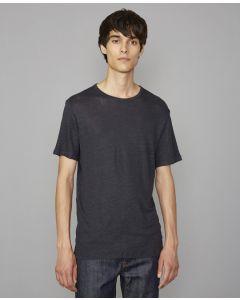 Shirt OFFICINE GÉNÉRALE Lightweight Linen Dark Navy