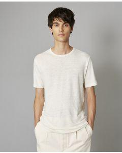 Shirt OFFICINE GÉNÉRALE Lightweight Linen Ecru