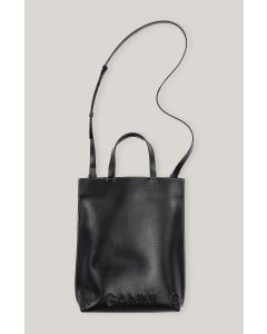 Tasche GANNI Banner Medium Tote Bag Black