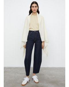 Jeans TOTÊME Barrel Leg Denim Raw Blue